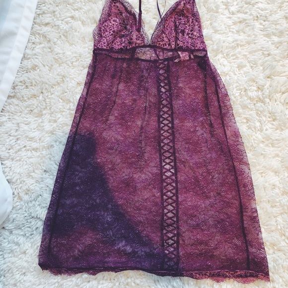 Victoria's Secret Other - Victoria's Secret see through lace night gown
